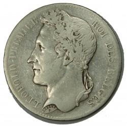 BELGIQUE - LEOPOLD I er 5 Francs 1847