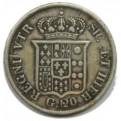 ITALIE - 120 grana 1834 - FERDINANDO II - DUE SICILE