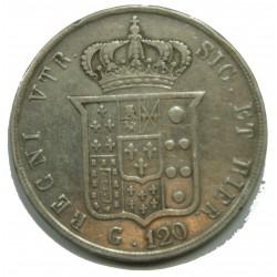 ITALIE - 120 grana 1857 - FERDINANDO II - DUE SICILE