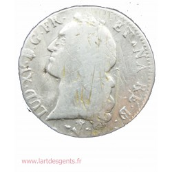 ECU du BEARN au bandeau - Louis XV 1748 Pau