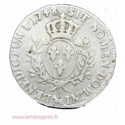 ECU du BEARN au bandeau - Louis XV 1748 Pau - R2 -