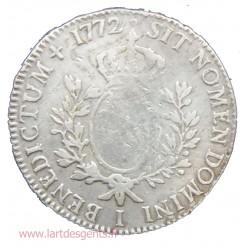 ECU à la vieille tête - Louis XV 1772 I Limoges