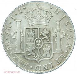 ESPAGNE - 8 REALES CARLOS IIII 1799 - LIMA