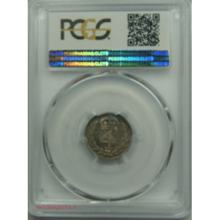 Great Britain - 4 pence 1904 PCGS PL58