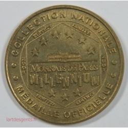 Médaille Touristique - Palais Princier (Monaco) 2001 Millénium