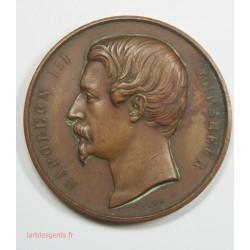 Médaille Napoléon III, Ministère de l'Agriculture. Concours Régional 1859 ST QUENTIN