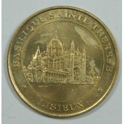 Médaille Touristique LISIEUX - Basilique de Sainte THERESE (14) 2000