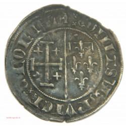 COMTÉ DE PROVENCE - Jeanne de Naples, Gros à la couronne