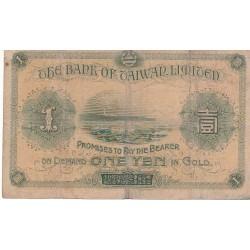 CHINE 1 YEN 1915