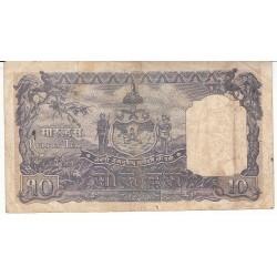 NEPAL 10 MOHRU 1951