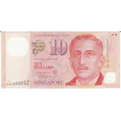 SINGAPOUR 10 DOLLARS 1999 NEUF