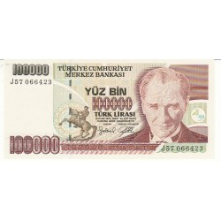 TURQUIE 100000 LIRASI NEUF