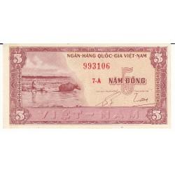 VIETNAM 5 DONG TYPE 1955