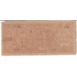 VIETNAM 10 DONG 1958