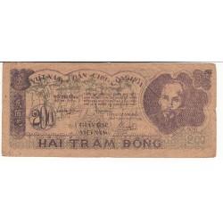 VIETNAM 200 DONG 1950