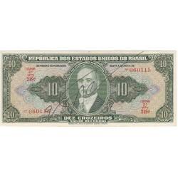 BRESIL 10 CRUZEIROS 1945