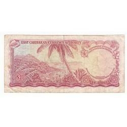 CARAÏBES 1 DOLLARS 1965