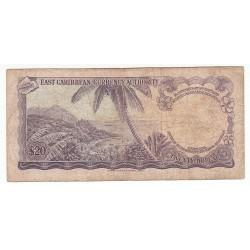 CARAÏBES 20  DOLLARS