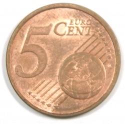 Allemagne 5 cents double étoile 2004