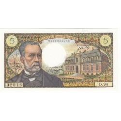 5 Francs PASTEUR 1969 SPL Fayette: 61.10