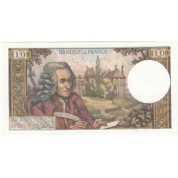 10 Francs VOLTAIRE 1968 SPL Fayette: 62.33