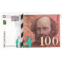 100 Francs CEZANNE 1997 NEUF Fayette 74,1