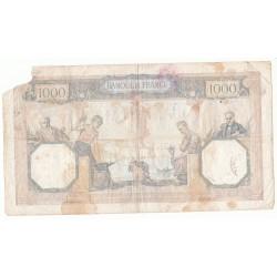 1000 Francs CERES ET MERCURE  29-02-1940 B  Fayette 38.43