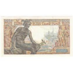 1000 Francs DEESSE DEMETER 27-05-1943 Fayette 40.9