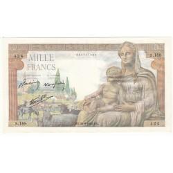 1000 Francs DEESSE DEMETER 28-05-1942 Fayette 40.1
