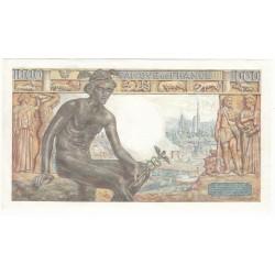1000 Francs DEESSE DEMETER 05-11-1942 Fayette 40.10