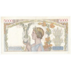 5000 Francs VICTOIRE 19-11-1942 Fayette 46.44
