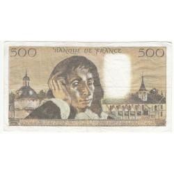 500 Francs PASCAL 06-11-1975  Fayette 71.13