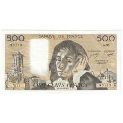500 Francs PASCAL 05-10-1978 Fayette 71.18