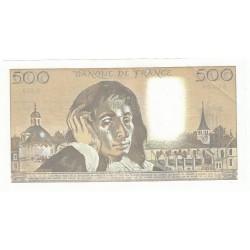 500 Francs PASCAL 05-07-1990 SPL Fayette 71.44