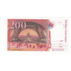 200 Francs EIFFEL  1995 Fayette 75.1