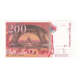 200 Francs EIFFEL  1999 Fayette 75.5 NEUF