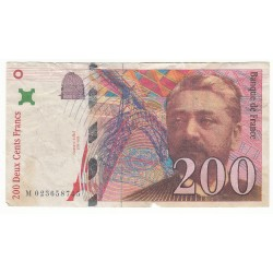 200 Francs EIFFEL 1999 Fayette 75.5