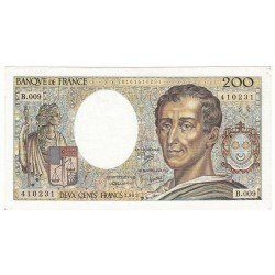 200 Francs MONTESQUIEU 1982 Fayette 70.2