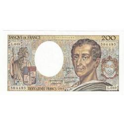 200 Francs MONTESQUIEU 1987 Fayette 70.7 SPL