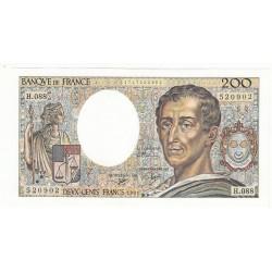 200 Francs MONTESQUIEU 1991 Fayette 70.11 SPL+