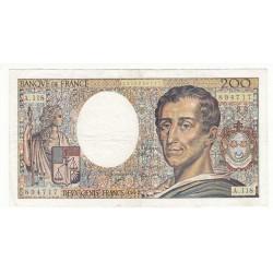 200 Francs MONTESQUIEU 1992 Fayette 70.12
