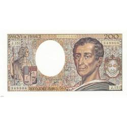 200 Francs MONTESQUIEU 1992 Fayette 70.12 NEUF