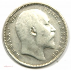 Inde – Rupee 1906 Edouard VII