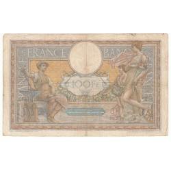 100 Francs LUC OLIVIER MERSON 24-11-1909 Fayette 23.1