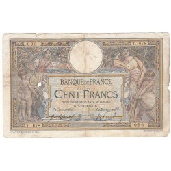 100 Francs LUC OLIVIER MERSON 23-01-1913 Fayette 23.5