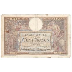 100 Francs LUC OLIVIER MERSON 19-06-1917 Fayette 23.9