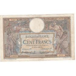 100 FRANCS LUC OLIVIER MERSON 22-03-1920 Fayette 23.12
