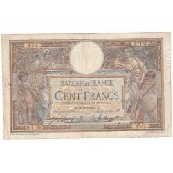 100 FRANCS LUC OLIVIER MERSON 30-12-1920 Fayette 23.13