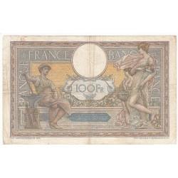 100 FRANCS LUC OLIVIER MERSON 26-06-1922 Fayette 23.15