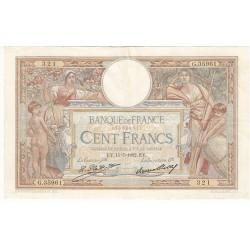 100 Francs LUC OLIVIER MERSON 15-07-1932 Fayette 24.11